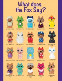 Students earn foxes based on the amount of donations they collect.
